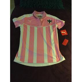 Blusa Rayados Monterrey Proyect Pink