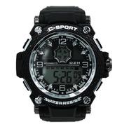 Reloj Zeit  Hombre  Plástico  Negro Filos  - Cb00018806