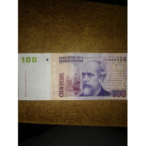 Billete 100 Pesos Roca Faltan Las Firmas Y Mas !!!! Grave !