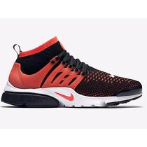 Tênis Nike Flyknit Air Presto Ultra Running Jordan Lifestyle