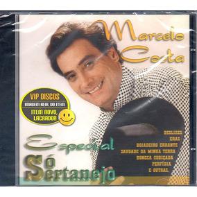 Cd Marcelo Costa Só Sertanejo Especial - Novo Lacrado Raro