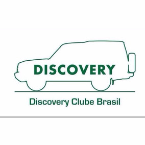 Adesivo Discovery Clube Brasil Tamanho 27x15cm Cor Branca