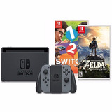 Nintendo Switch + 1 2 Switch + Zelda Breath Of The Wild
