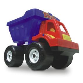 Brinquedo Carro Caminhão Caçamba Terra Areia - Supernanny