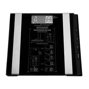 Balança Digital De Banheiro Bk55 Black Decker