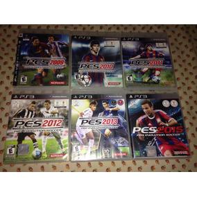 Lote 6 Jogos Pes Pro Evolution Soccer Playstation 3 Ler Tudo