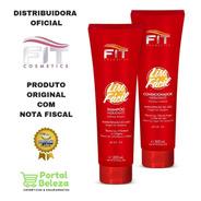 Liso Fácil - Shampoo + Condicionador Fit Cosmetics