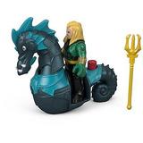 Imaginext Fisher-price Dc Super Friends Aquaman Y Seahorse