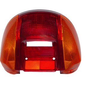 Lente Da Lanterna Honda Biz 100 98 A 2005 3 Peças Paramotos