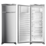 Freezer Vertical Brastemp Flex 228 Litros 110v - Bvr28mk
