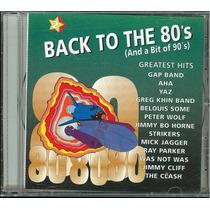 Back To The 80 Vol 2-compilado 13 Maxis Nuevo Cerrado Stock