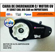 Soult Car 650 - Caixa De Tração 6v
