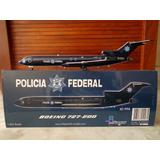 Avion Boeing 727-200 De La Policia Federal En Escala 1:200