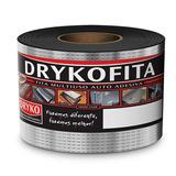 Fita Multiuso Auto Adesiva Alumínio 15cm X 10m Dryko