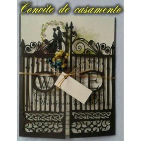 Casamento Convite Portão Arquivo De Corte Digital Silhouette