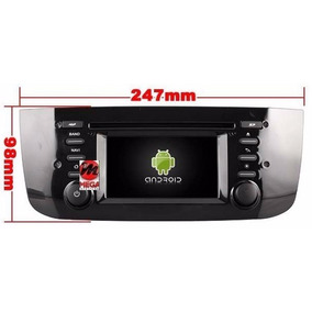 Central Multimídia Android 4 Wifi S160 Fiat Punto 2012-2015