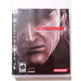 Metal Gear Solid 4 Guns Of Patriots Ps3 Usado