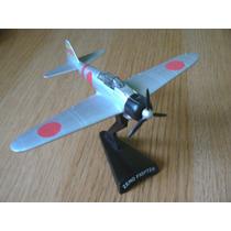 Miniatura Avião Segunda Guerra Mitsubishi A6m Zero Kamikaze