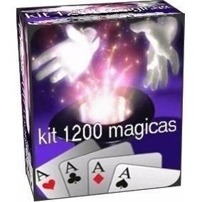 Mega Kit De 1200 Magica Profissional