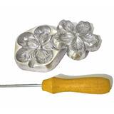 Kit Frisadores Para Flores Artificiais Frisadores Aluminio