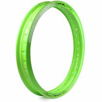 Aro De Moto Alumínio Motard 18 X 1.85 Viper Verde Neon