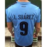 Camiseta Uruguay Puma 2017/18 Suárez 9 Godín 3 Brasil Nike