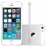 Apple Iphone 5s 16gb Vitrine Desbloqueado Prata C Garantia