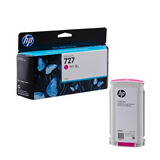 Cartucho De Tinta P/plotter Hp 727 Magenta 130 Ml B3p20a