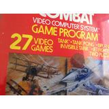 3 Juegos Combat Atari 2600 Envio Incluido