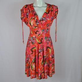 Papillonblanc Vestido Multicolor M Msrp $550