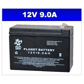 Bateria 12v 9ah P/ Moto Ou Quadriciclo Elétrico Bandeirantes