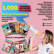 Kit 1000 Revistas Passatempo - Diversos Temas