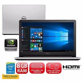 Notebook Dell I15-5558-b40 Intel Core I5 5200u 15,6 8gb Hd