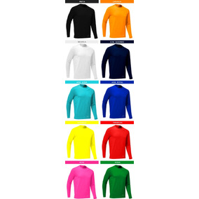Kit 3 Camisas Térmicas Segunda Pele Proteção Uv Solar Rosset