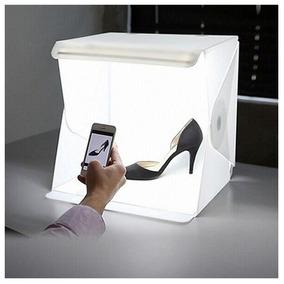 Mini Estúdio Completo Fotografia De Produtos Foto Box Led