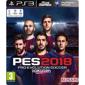 Pro Evolution Soccer 2018 Pes 18 Pes18 Ps3 Psn Digital Ptbr