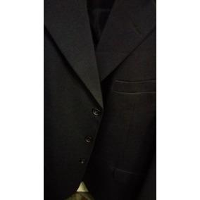 Paleto Masculino Preto E Azul De Oxford Liso E Risca De Giz