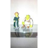 Miniaturas Bonecos Shrek E Fiona