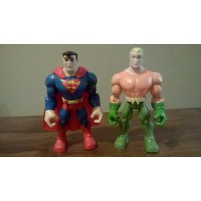 Dc Super Friends Liga De La Justicia Superman Y Aquaman