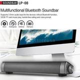 Inalámbrica Bluetooth Tv Hifi Sound Bar Altavoces Cine En