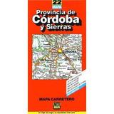 Provincia De Cordoba Y Sierras - Mapa Carretero - - Automapa