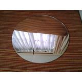 Espejo Para Centro De Mesa De 19 Cm De Diámetro O Cuadrado