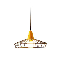 Lámpara De Techo Morph Diseño Gala Madera Marrón
