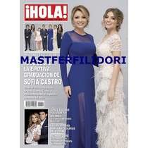 Angelica Rivera Sofia Castro Revista Hola Mexico Julio 2015