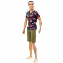 Brinquedo Boneco Ken Fashionistas Graphic Tee Mattel