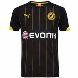 Camisa Borussia Dortmund Alemanha Puma 2016 Away