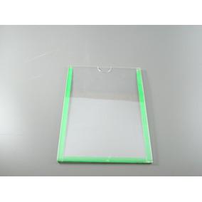 Display Porta Folhas Parede A5 Acrílico Duplo Kit 5 Peças