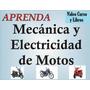 Libros-mecanica Y Electricidad De Motos + Video Curso 3 Dvd