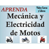 Libros-mecanica Y Electricidad De Motos + Video Curso 3 Dvd