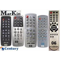 Controles Century Super Color, Usr 1950, 1900, 1700, Tv Cent
